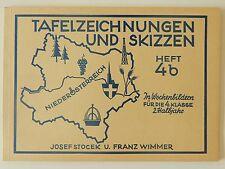 Tafelzeichnungen und Skizzen Heft 46 Josef Stocek Franz Wimmer 4 B 4 Klasse