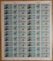 Bund Zusammendruck Bogen Nr. 1537 - 1538 FN 4 postfrisch W Zd 9-W Zd 14 Mi. 75 €