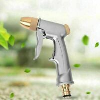 High Pressure Water Spray Gun All metal plating Garden Hose Pipe Lawn Car Wash