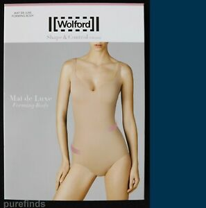 WOLFORD MAT DE LUXE FORMING BODY, Size S, UK 10-12, B Cup, BNWT