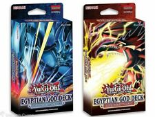 YuGiOh! Egyptian God Decks: Slifer the Sky Dragon + Obelisk the Tormentor - Set