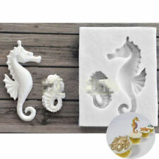 Sea Horse Silicone Fondant Mould Cake Decor Chocolate Gumpaste Sugarcraft Mold