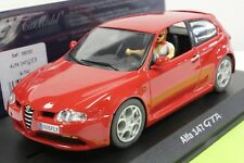 FLY A741 ALFA 147 GTA CUP NEW 1/32 SLOT CAR IN DISPLAY CASE