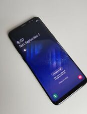 Samsung Galaxy S8 G950  64GB Midnight Condition burn in