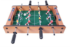 NEW WNB Indoor Table Top Football Game With Wood Effect Surround idea Xmas Gift