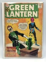 Green Lantern 9 December 1961 DC Low Grade 2nd Appearance Sinestro 1st Cover