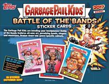 Garbage Pail Kids Battle of the Bands Singles Pick Card Build Set lot GPK 2017