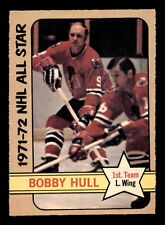 BOBBY HULL 72-73 O-PEE-CHEE HIGH NUMBER 1972-73 NO 228 EXMINT+ 18160