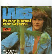 SINGLE 1975  LARS - ES WAR EINMAL EINE GITARE ,7inch