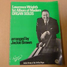 all organ LAWRENCE WRIGHT's 1st Album of Modern Organ Solos Jackie Brown Farfisa