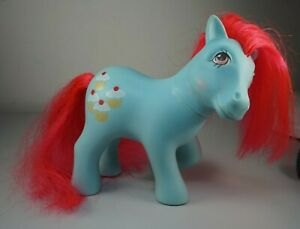 Hasbro My Little Pony G1 Vintage CHERRY SWEET Cookery Pony Euro UK 1988 loose