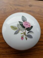 Wedgwood Hathaway Rose Round lidded bowl. Boxed.