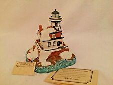 Harbour Lights 701 Colchester Reef, Vt Christmas 1996 Lighthouse Coa Box