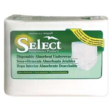 NEW Two Pack Size Small Select Disposable Absorbent Underwear 44 Count 22 each