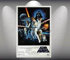 Star Wars Vintage Movie Collection Art Poster  format A3 Top Print