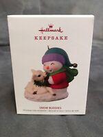 Dented Box HALLMARK Keepsake Snow Buddies Ornament Series