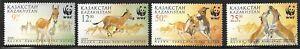 KAZAKHSTAN SC 344-7 NH issue of 2001 Animals WWF