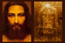 Jesus Image 8x10 Shroud of Turin Jesus Catholic Vintage Print Picture Poster