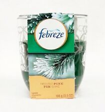 1 Febreze Limited Edition FROSTED PINE Scented 1 - Wick Filled Candle