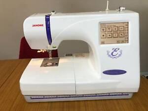 Embroidery Machine, JAMOME Memory Craft 300E