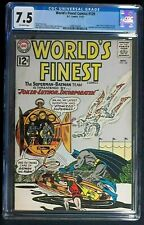 World's Finest #129 CGC 7.5 Joker & Lex Luthor vs Batman & Superman Nov. 1962