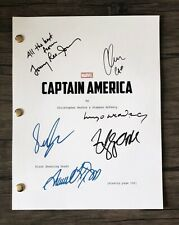 Captain America Movie Script