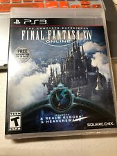 Final Fantasy XIV Online The Complete Experience w/ DLC (PS3 2015) New Sealed