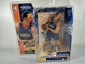 Juwan Howard Denver Nuggets McFarlane's Sportpicks NBA Series 3 ~ Creases