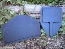 gostatue MOLDS 2 plain molds concrete plaster abs plastic moulds