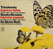 "BOULT ""TCHAIKOVSKY: CAPRICCIO ITALIEN"" LP 1975 angel"