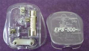 Missing Link EPS-500 Silver Plated UK 13 Amp Mains Plug