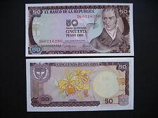 Colombia 50 pesos oro 20.7.1974 (p414) UNC
