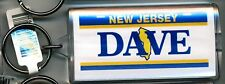 NEW JERSEY NAME KEYCHAIN DAVE (LN-06-050)