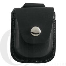 New Charles Hubert Black Leather Pocket Watch Holder Up To 42mm 3572-3