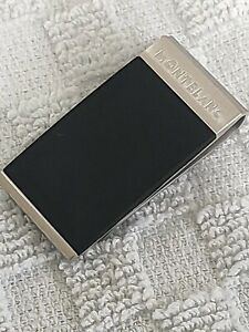 Montblanc Contemporary Collection black and  Stainless Steel Money Clip