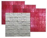 Tumbled Edge Concrete Stamp Mold SM 2111. Concrete Stamp 4 pc Set