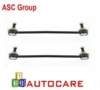 ASC Group Front Anti Roll Bar Drop Links x2 For Peugeot 206 SW 02-15