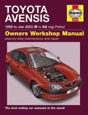 Avensis Toyota Car Owner & Operator Manuals