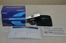 Olympus FL-14 Electronic Shoe Mount Flash For Olympus Pen w/ Box - Used Once!!