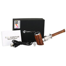 Kamry K1000 plus wood pipe effect vape kit 1100 battery FREE US DELIVERY E-Pipe