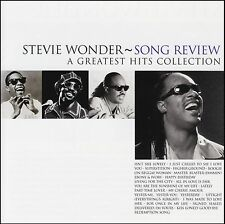 STEVIE WONDER - SONG REVIEW : A GREATEST HITS COLLECTION CD ~ BEST OF *NEW*