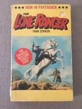 The Lone Ranger By Fran Striker Vintage Western Paperback 1977