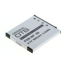 Batería, accu, batería, Battery para Casio Exilim ex-s10/ex-s12 (np-60)