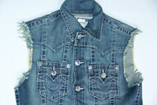 True Religion Denim Jeans Blue   Vest Small S  SLim Fit MC088RW7