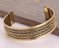 Copper Adjustable Bracelet Cuff Wristlet Wrist Band Bangle Luck -  Men Women
