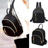 Women's Girls Backpack Faux Leather Rucksack School Bag Travel Handbag Mini Tote