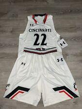 New Under Armour Cincinnati Bearcats Armourfuse Men's Large Basketball uniform