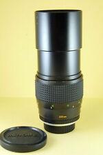 Minolta MC Tele Rokkor 200mm 1:3,5 - Sony Nex - Minolta XE, XG, SRT