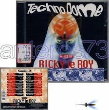 "RICKY LE ROY ""TECHNO DOME"" CD GIGI D'AGOSTINO PICOTTO"
