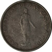 1837 LC-9A1 Quebec Bank Token One Penny Deux Sous!-d779qsc2